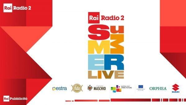 Risultati immagini per SUMMER LIVE RADIO2